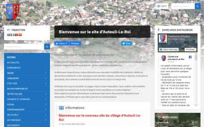Refonte du site internet d'une commune : Auteuil-Le-Roi.