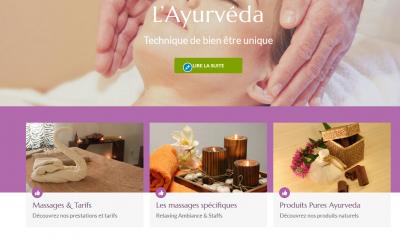 Modification d'un site : ayurdev.fr