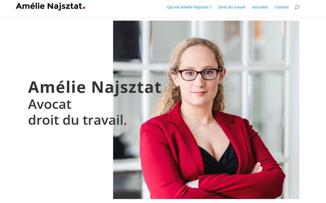 Création d'un site de présentation en une page : Le cas d'une avocate
