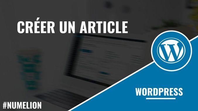 Pourquoi écrire des articles dans WordPress ?